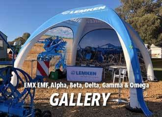 EMX Inflatables EMF, Alpha, Beta, Delta, Gamma & Omega
