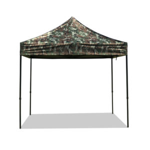 camouflage roof folding marquee