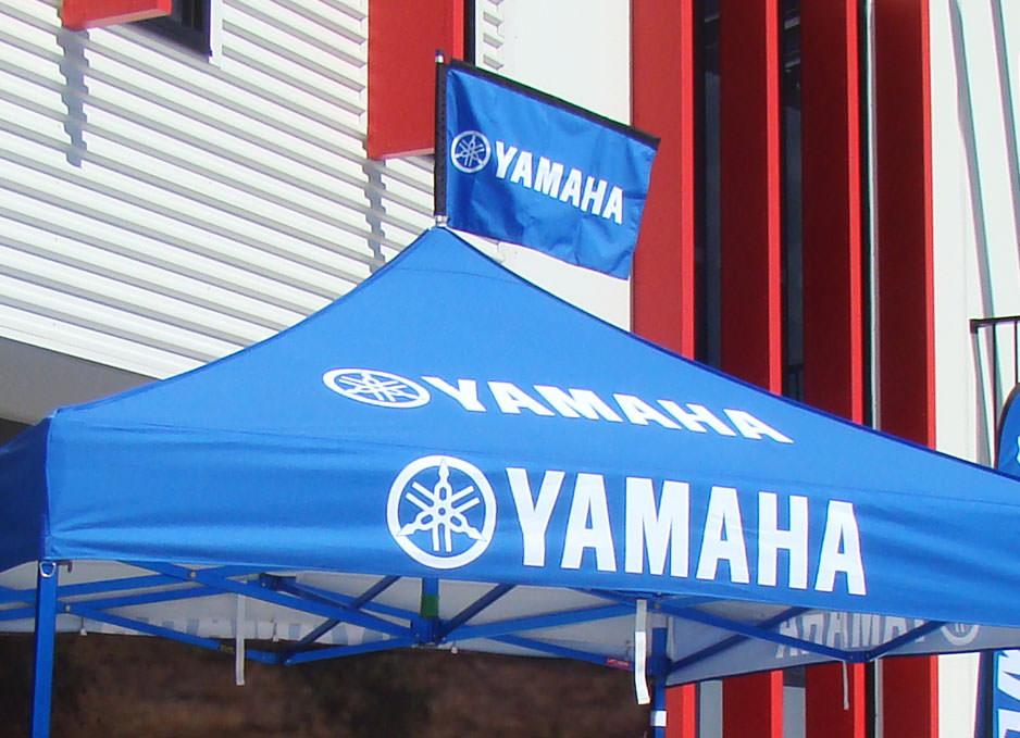 Yamaha Marquee Peak Flag