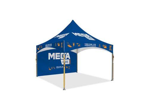 pavilion 3x3m marquee printed