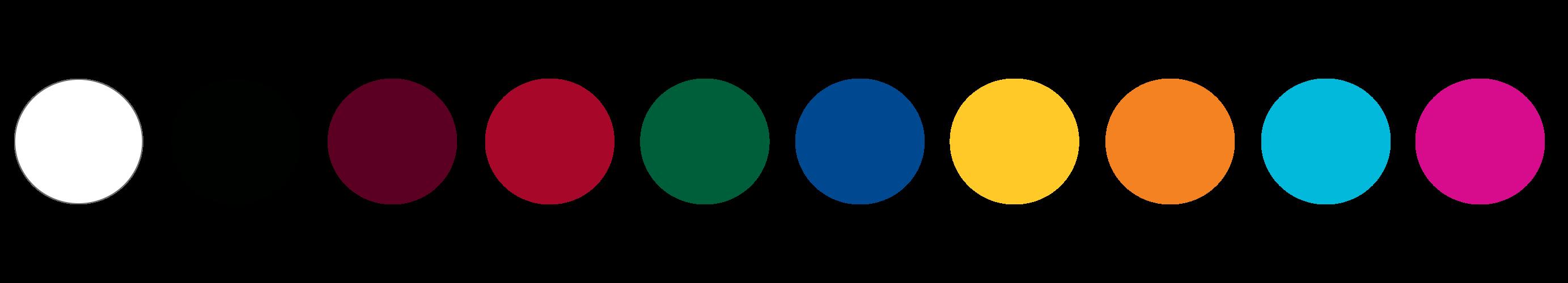 Extreme Marquees Standard PVC Colour Range
