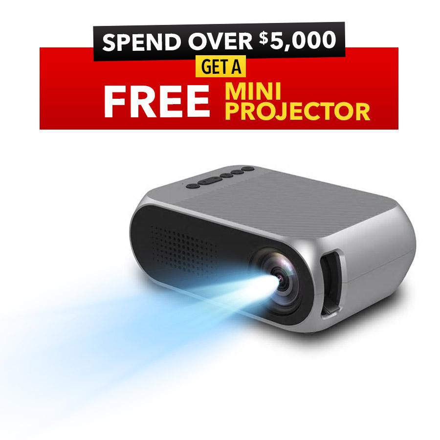 eofy rewards mini projector
