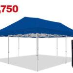 6x6 gazebo in blue color